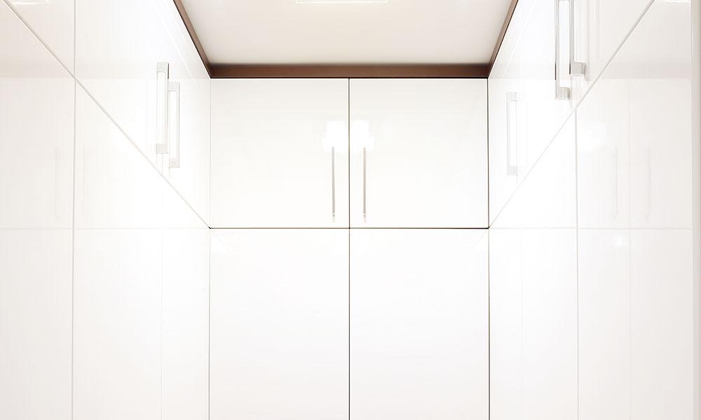 HS204 White High Gloss Bodaq Interior Film Pattern