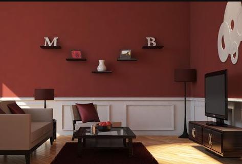 maroon matte room