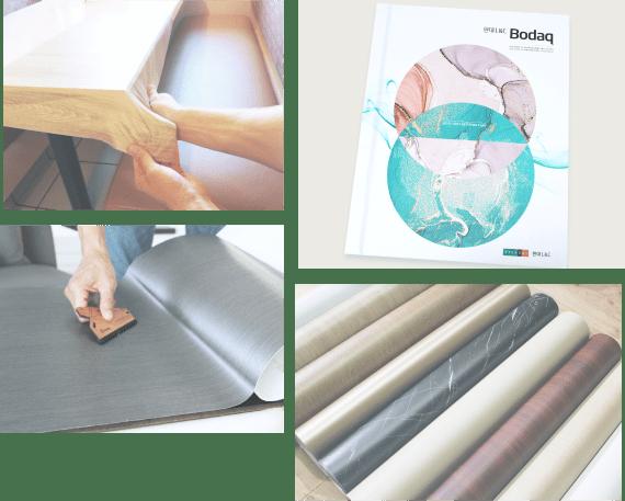 Bodaq film stretching, rolls, catalog