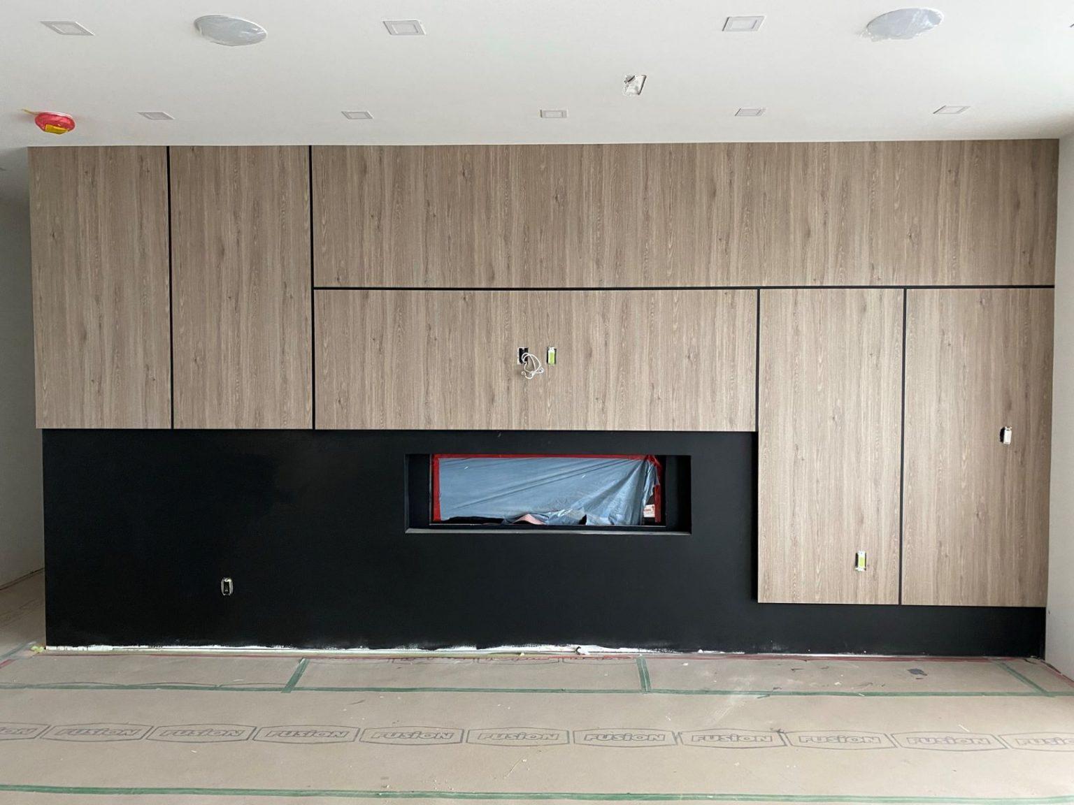 Wood refinished panels
