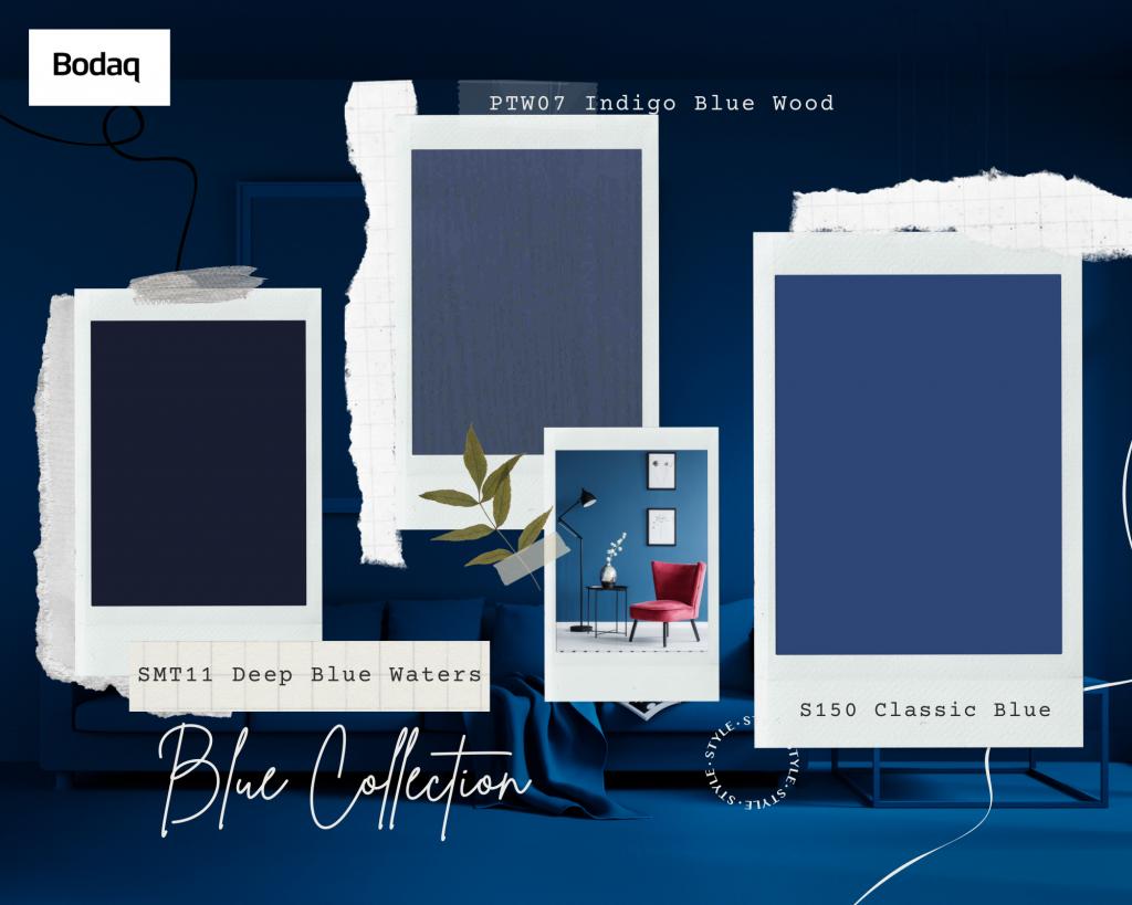 Blue Collection of Bodaq Interior Film